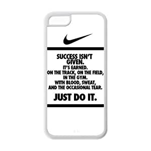 "DIY NIKE QUOTE JUST DO IT Custom Case Cover For iPhone 6 4.7""(Laser Technology)"
