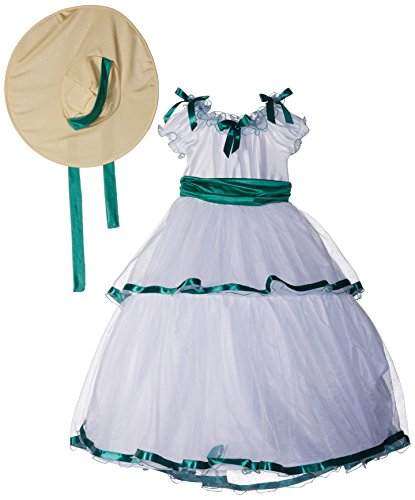 Southern Belle Costume Kids - Fun World Southern Belle Child