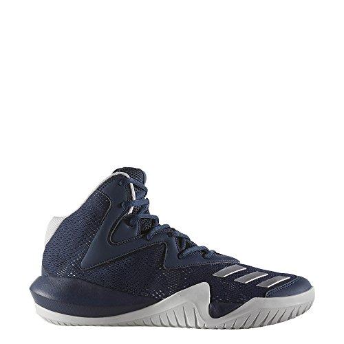 Adidas Uomini Squadra Pazza Nel 2017 Scarpe Da Basket Blu (maruni / Plamet / Gridos)