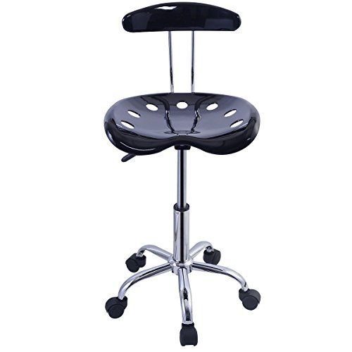 2PC Adjustable Bar Stools ABS Tractor Seat by Pinna store (Image #2)