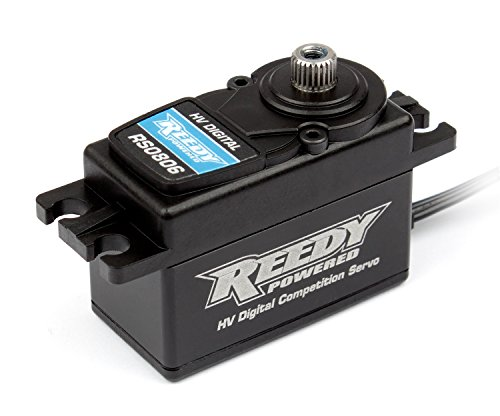 Team Associated 27108 Reedy Rs0806 Low Profile Digital High Voltage Hi-Speed Competition Hobby RC Vehicle Servos, ()