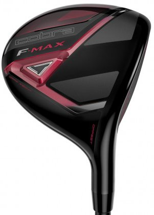 (Cobra Women's 2018 F-Max Fairway Black-Raspberry, Right Hand, Graphite, 27, degrees, Ladies )