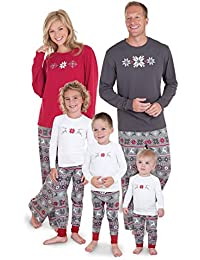 Family Christmas Pajamas Set - Soft Cotton Family...
