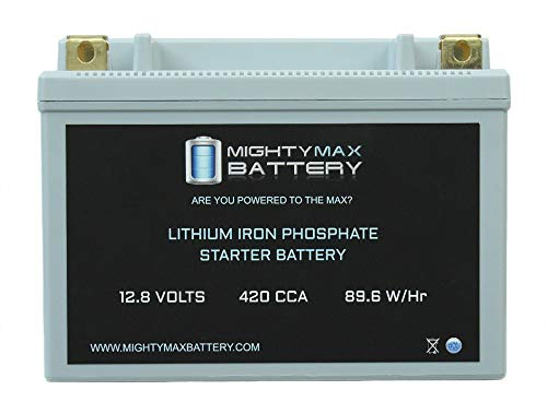 Specialties Drag Replacement (Mighty Max Battery YTX20H-BS Lithium Battery Replacement for Drag Specialties 2113-0276 Brand Product)