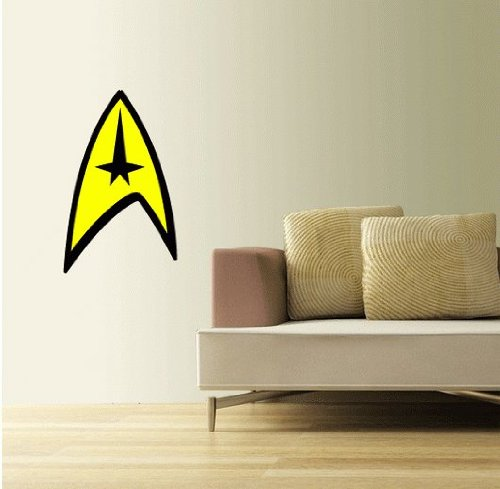 Star Trek Insignia Wall Decal