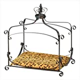 Royal Splendor Pet Metal Canopy Bed Small Dog Cat Puppy by Furniture Creations