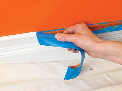 ScotchBlue 2093EL-24CVP Trim + BASEBOARDS Painters Tape.94 in x 60 yd, 3 Rolls, Blue by ScotchBlue (Image #7)