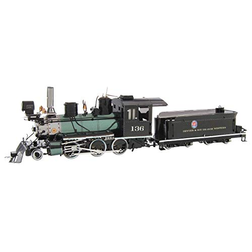 - Fascinations Metal Earth Wild West 2-6-0 Locomotive 3D Metal Model Kit