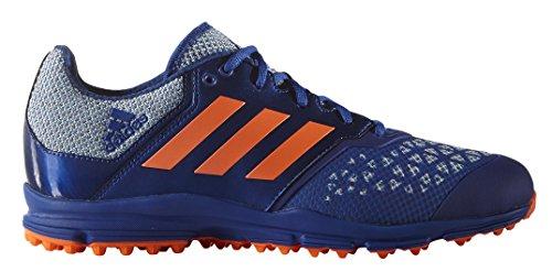 Adidas Performance Mens Zona Dox Campo Hockey Scarpa Collegiata Royal / Solar Orange / Shock Blue