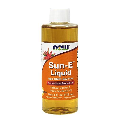NOW Sun-E Liquid, 4-Ounce