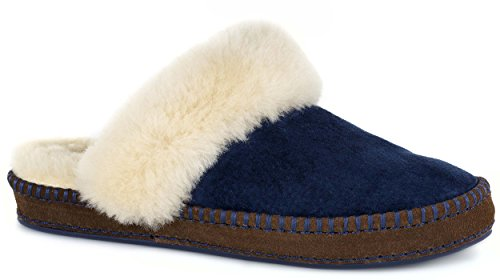 Slip On Aira Navy Women's UGG Slipper HqEOR
