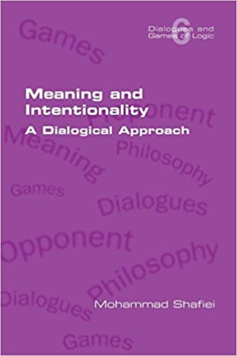 Meaning and Intentionality: A Dialogical Approach Book Cover