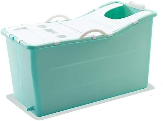GAONA Bañera de hidromasaje portátil, Plegable bañera for Adultos ...