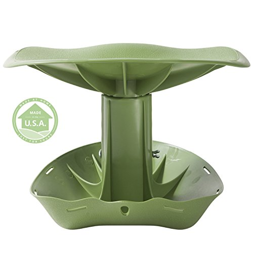... By Vertex With Height Adjustable Contoured Comfort Seat and Patented Rocking Base - Made In USA - Model GB1200  Rocking Garden Stool  Garden u0026 Outdoor  sc 1 st  Amazon.com & Amazon.com : Garden Rocker Original Comfort Seat By Vertex With ... islam-shia.org