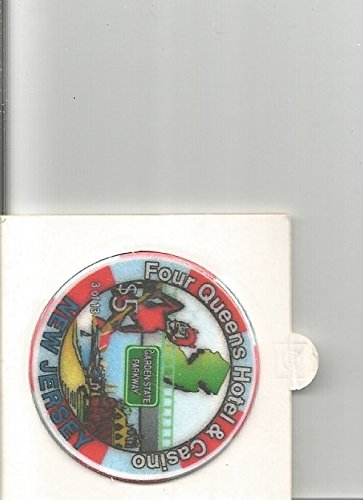 $5 four queens new jersey las vegas casino chip rare