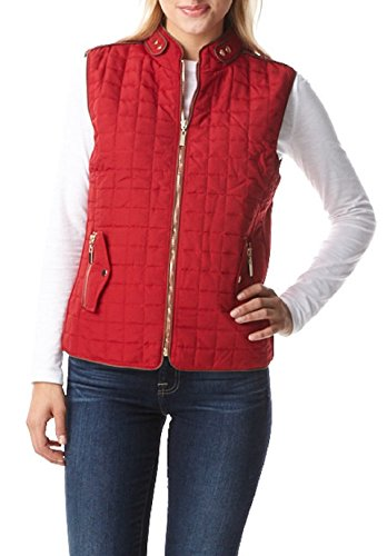 Womens Quilted Lightly Padded Collar product image