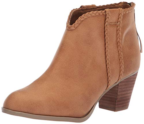 Report Women's Claire Ankle Boot, tan, 8 M US