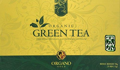 Organo Gold Organic Green Tea-1.75 oz 25 count