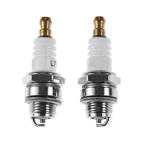 Spark Plug (Pack of 2) Heavy Duty for 2 Stroke 52cc/43cc Brush Cutter