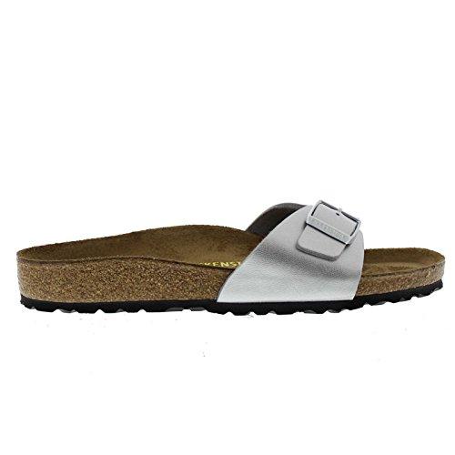 Birkenstock Men´s Madrid Silver Synthetic Sandals 42 EU (M9/L11 US) R 040411