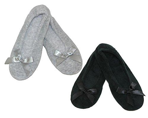 ISOTONER Womens Classic Ballerina Slippers