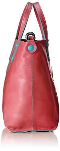 GabsLADY - Bolsa de Asa Superior Mujer Rojo - Rot (1507 corallo)