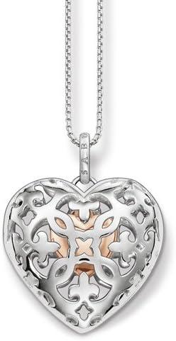 Thomas Sabo Damen Kette Halskette ohne Anhänger Silber Modeschmuck silber