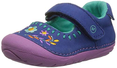 - Stride Rite Girls' Soft Motion Atley Mary Jane Flat, Navy Multi, 3 W US Infant