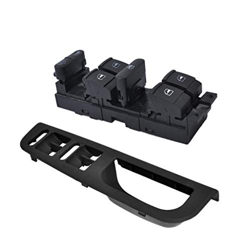 YONGYAO Black Electric Power Window Master Switch For Vw Mk5 Mk6 Passat
