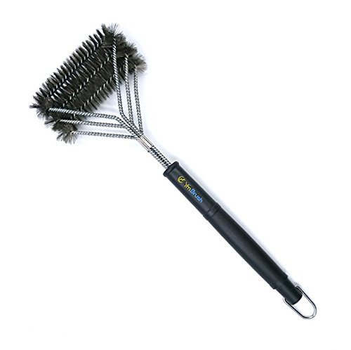 SOURBAN BBQ Grill Brush, Stainless Steel Brushes Woven Wire Bristles Grill Cleaner Chef Tools For Grills-Free Basting & Pastry Brush