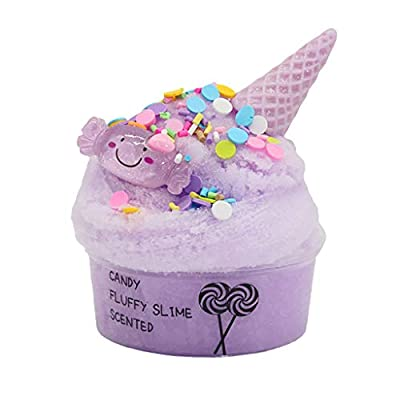 60ml Cotton Candy Cloud Ice Creamcone Slime Swirl Scented-Clay Toy, Toys St. Patrick Easter Gifts : Sports & Outdoors