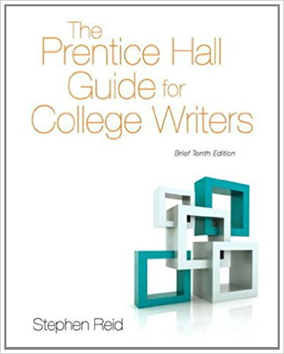 Amazon the prentice hall guide for college writers brief the prentice hall guide for college writers brief edition 10th edition 10th edition fandeluxe Images