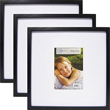 Amazoncom Mainstays 13 X 13 Matted To 7 X 5 Linear Frame