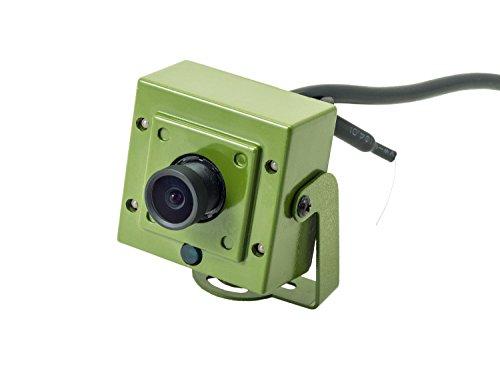 (Green Feathers WiFi Bird Box Camera - HD with IR, MicroSD)