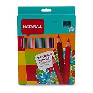 Nataraj FunFilled Color Pencils 24 pc