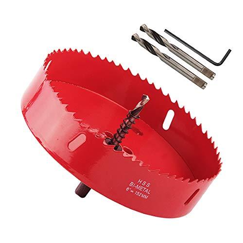 MAYLUCK 6-Inch Cornhole Saw - Making Cornhole Boards - DIY Cornhole Game - Bean Bag Toss Game Tool