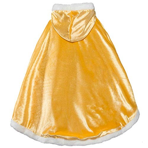 iTvTi Princess Cloak with Hood Girls Cape Kid