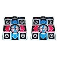 Two Dance Dance Revolution Dance Pads for PS2 by Dance Dance Revolution