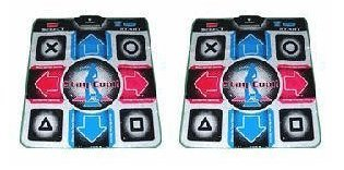Two Dance Dance Revolution Dance Pads for PS2 by Dance Dance Revolution (Ddr Pad)