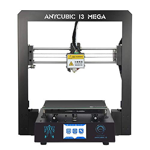 ANYCUBIC MEGA I3 3D Printer with Patented Heat Bed and Free 1kg PLA Filament, Works with PLA/ABS/Hips/Wood etc