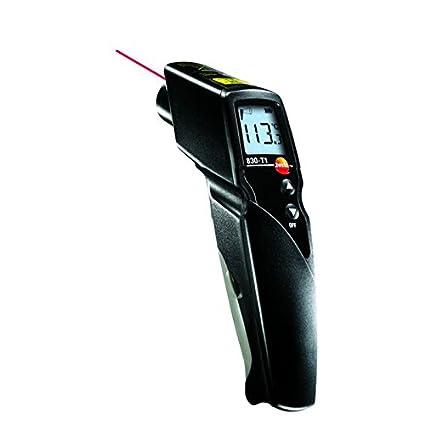 Pistola de temperatura infrarroja Testo® 830T1 junto con certificado de calibración por INSTRUKART