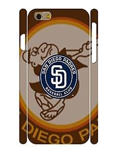 Cool Dustproof Hard Plastic Baseball Team Logo Skin for Iphone 6 Case - 4.7 Inch