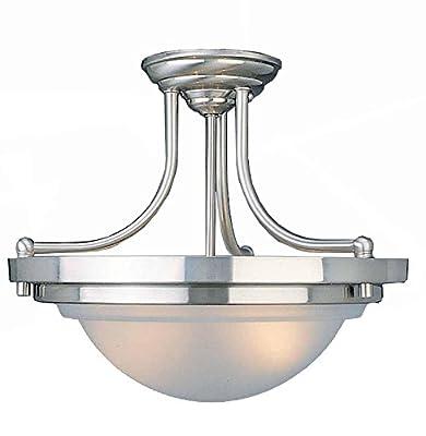 Volume Lighting V2172 Ceiling Light, Brushed Nickel Finish