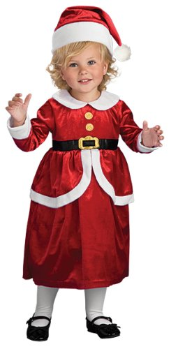 Rubie's Costume Co Lil Mrs. Claus Costume, (Mrs Claus Costume Child)