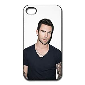 Cool Style Adam Levine Scratch Hard Plastic Case For Iphone 4/4S Cover