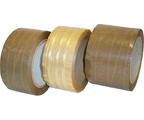 PRO Système de V15043PVC ruban bande passante, fils amplifie, 50mm, emballage 66m Longueur Blanc (Lot de 36) 50mm emballage 66m Longueur Blanc (Lot de 36) Pro-System Verpackungstechnik GmbH