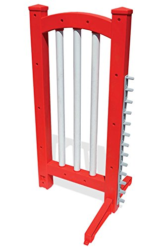 J&J Dog Supplies Wing Jumps (Red) by J&J Dog Supplies