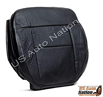 2004 Ford F-150 Lariat FX4 FX2 XLT Driver Bottom Leather Seat Cover Gray