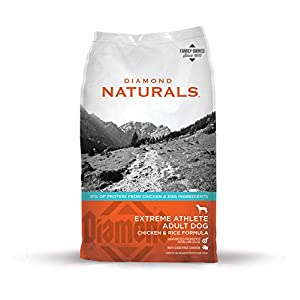 Diamond Naturals Extreme Athlete Real Meat Recipe High Protein Dry Dog Food With Real Cage Free Chicken Protein 40Lb 80