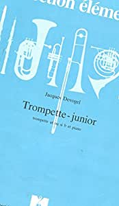 Partitions classique ROBERT MARTIN DEVOGEL J. - TROMPETTE-JUNIOR, TROMPETTE SOLO Orchestre junior